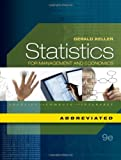 Statistics for Management and Economics, Abbreviated Edition (with Essential Textbook Resources Printed Access Card) (1111527326) by Keller, Gerald