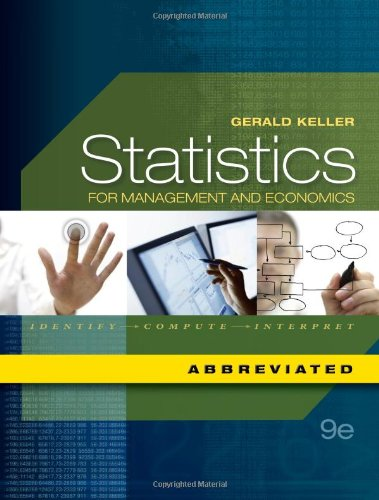 Statistics for Management and Economics, Abbreviated...