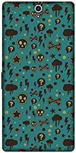 The Racoon Grip printed designer hard back mobile phone case cover for Sony Xperia C5 Ultra. (Curiosity)