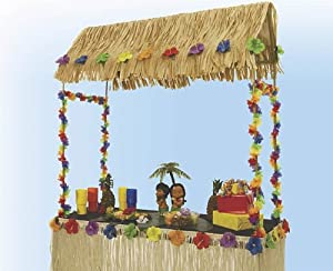 Amazon.com: Tabletop Tiki Hut 55 Inches X 22 Inches X 56 Inches: Toys