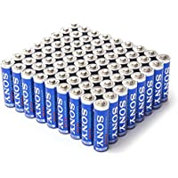 72 Pack Sony AA Stamina Plus Alkaline Batteries
