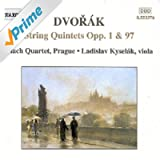 Dvorak: String Quintets Opp. 1 And 97