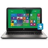 HP 15-af027cl Touch Screen Laptop Bundle, AMD A8-7410 2.2GHz Quad Core Processor, 8GB RAM, 750GB HDD, DVD Drive...