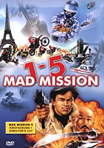 Mad Mission 1 - 5 - 4 DVD Box