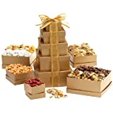 Broadway Basketeers Kosher Shiva Gift Tower of Sweets ~ Broadway Basketeers