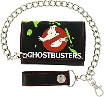 Ghostbusters Tri-Fold Wallet with Chain