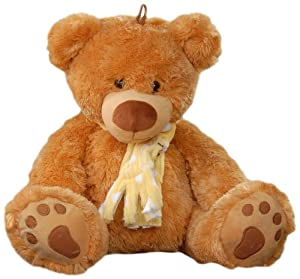Play n Pets PNP-3206 Bear with Scarf 4ocm (Large)