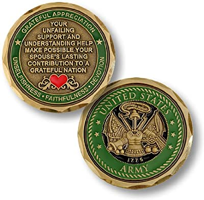 Army Spouse Challenge Coin
