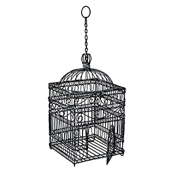 Achla Designs Victorian Decorative Hanging Bird Cage