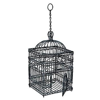Achla Designs Victorian Decorative Hanging Bird Cage