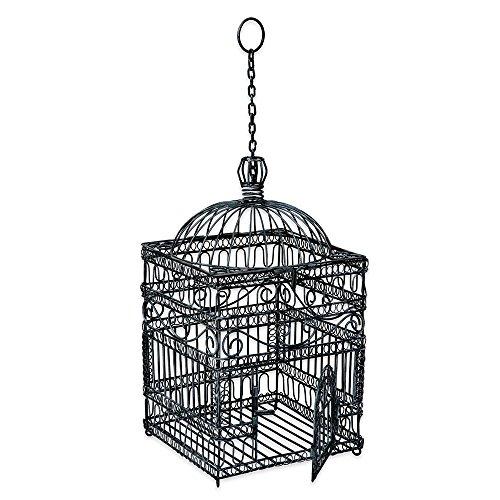 Achla Designs Victorian Decorative Hanging Bird Cage 0