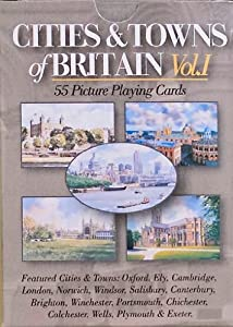 Neil Macleod Prints and Enterprises Ltd Towns and Cities Playing Cards