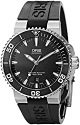 Oris Men's 73376534154RS Analog Display Swiss Automatic Black Watch