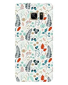GripIt Spring Pattern Printed Case for Samsung Galaxy Note 7