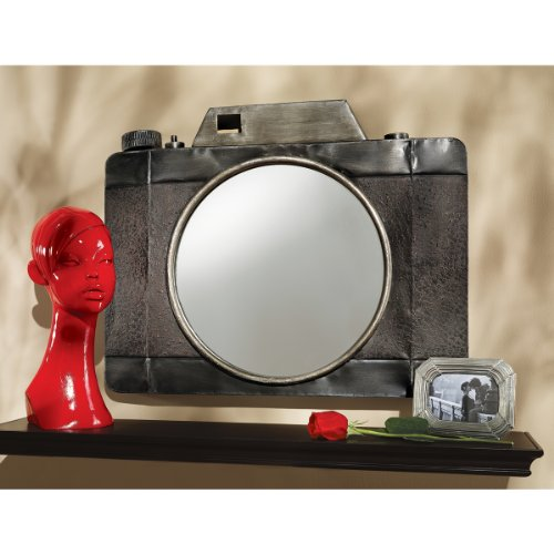Stieglitz Point and Click Camera Wall Mirror  Home