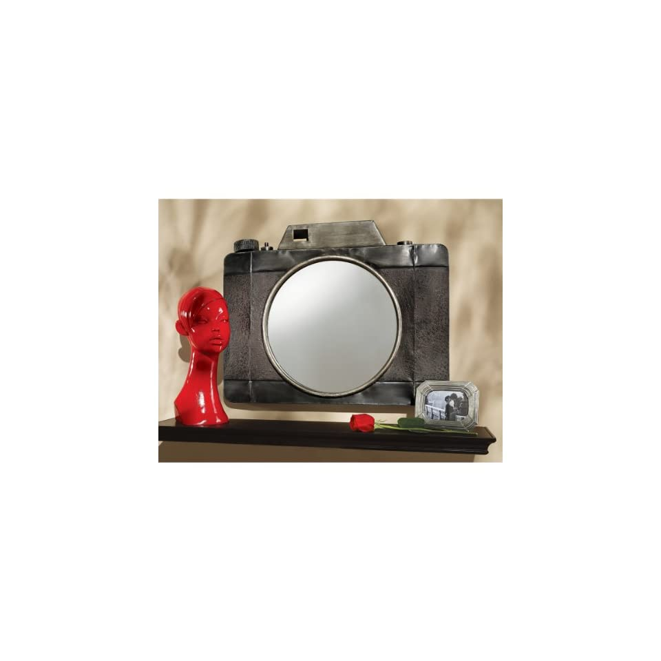 Stieglitz Point and Click Camera Wall Mirror:  Home