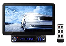 Pyle PLD11BT Touch Screen Control - Motorized & Detachable Display - USB Flash & Micro SD Memory Card Readers