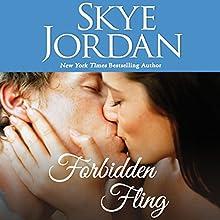 Forbidden Fling: Wildwood, Book 1 Audiobook by Skye Jordan Narrated by Tatiana Sokolov