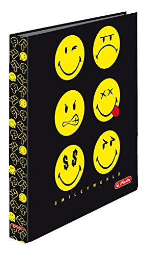 herlitz-50002054-2-ring-ringbuch-maxfile-smiley-world-innenspiegel-fsc-25-mm-schwarz
