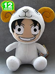 One Piece Luffy in Cosplay 12 Inches Plush Doll