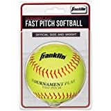 Franklin Sports Official Fast Pitch Softball, 12-Inch, 12-Inch/