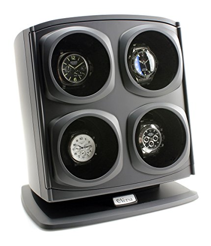 Versa Versa Quad Watch Winder in Black