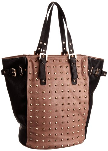 Dune Taupe Dudded Fashion Handbag