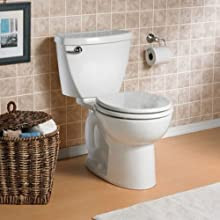 American Standard Cadet-3 FloWise Round Front Two-Piece Toilet with High Efficiency
