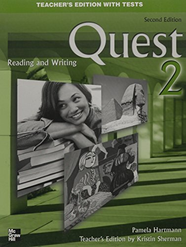 Quest Reading & Writing 2 Teacher's Edition with Tests