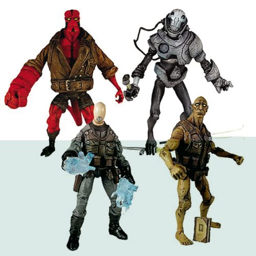 Buy Low Price Mezco Hellboy Comic Series 2 Action Figures Case of 12 (2 Sets) (B000UPNENA)