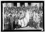 Photo: Raising Honor Flag of 3d Liberty Loan on Treasury
