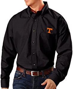 Tennessee Volunteers Antiqua NCAA Esteem Long Sleeve Button Down Dress Shirt by Antigua