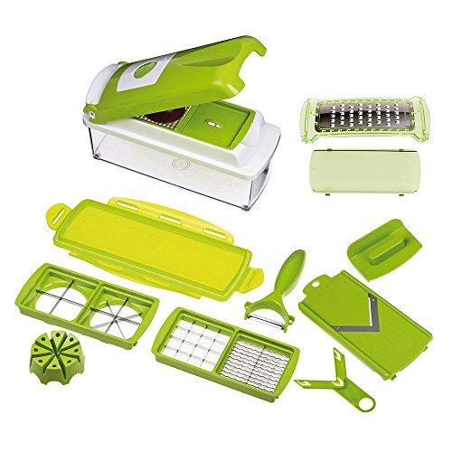Genius Nicer Dicer Plus original múltiples accesorios 1 pelador para cortar/hace/de corte en lonchas/rallador
