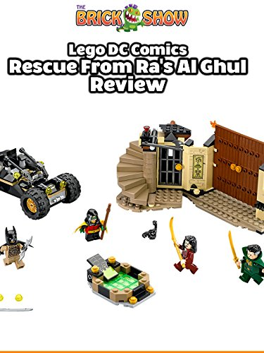LEGO DC Comics Batman:Rescue From Ra's Al Ghul Review (76056)