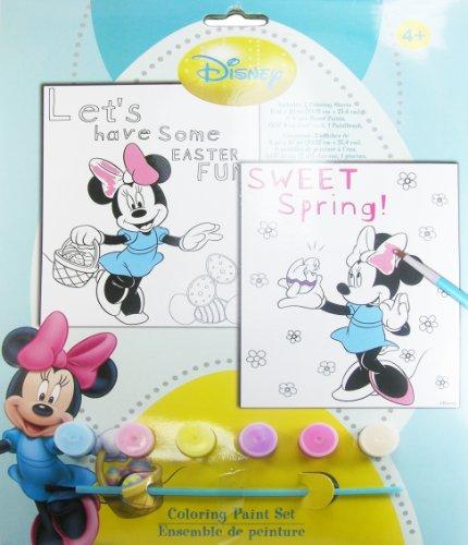 Disney Minnie Mouse Coloring Paint Set