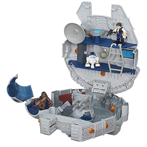 Image result for Playskool Galactic Heroes Millennium Falcon Set