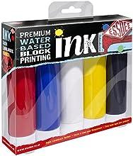 Essdee Calidad Premium bloque de impresión de tinta (5unidades), colores primarios)