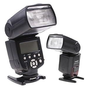 Yongnuo YN-560 II YN560II Flash Speedlite Speedlight w LCD Screen For Canon SLR 580EX II Canon 1Ds,5D,5DII,5D Mark II,7D,40D,50D,60D,450D,500D,550D,600D,1100D,Nikon D700,D300,D90,D60,D3,D2,D1,D7000,D5100,D5000,D3100,D3000,Olympus E620,E520,E450,E-30,E-5,E-3,Pentax,K-r,K-5,K-7,K-x,Fuji S5 DSLR SB-900 SB-800 SB-700