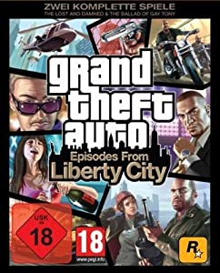 Grand Theft Auto IV: Episodes from Liberty City [PC Steam Code]