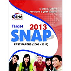 Target Snap 2013 - Past (2005 - 2012) + 5 Mock Tests