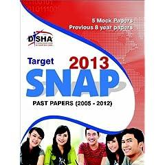 Target Snap 2013 - Past (2005 - 2012) + 5 Mock Tests