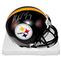 Mike Wallace Signed Autograph Pittsburgh Steelers Mini Helmet Authentic Certified Coa