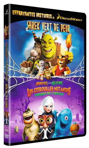 Shrek vert de peur ; monstres contre aliens : les citrouilles mutantes venues de l'espace [Edizione: Francia]