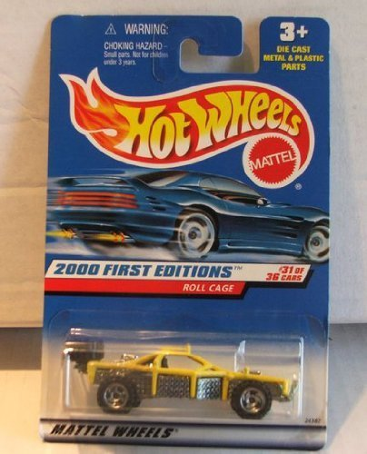 Hot Wheels 2000 First Editions Roll Cage