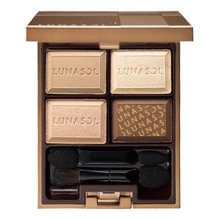 LUNASOL ルナソル セレクション・ドゥ・ショコラアイズ 01 Chocolate Blanc ショコラ・ブラン