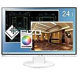 EIZO FlexScan 24.1インチ カラー液晶モニター ( 1920×1200 / IPSパネル / 5ms / ノングレア/ ホワイト ) EV2455-WTR