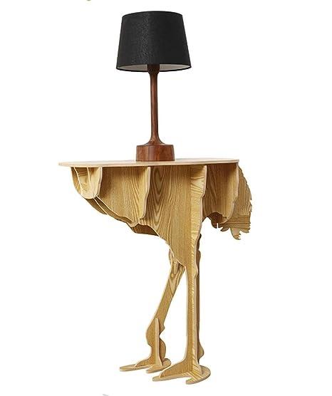 GZD Creative Furniture Creative Home Prodotti Struttura di struzzo Tabella Nordic Style Decoration 73 * 76cm , log