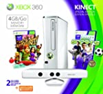 Xbox 360 4GB Console/ Kinect Family B...