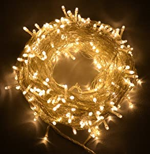 Innoo Tech UK Plug 33feet 100 LED String Fairy Lights Warm White with 8 Modes For Christmas,Party,Wedding,Coffee Shop,Patio,Porch by Innoo Tech