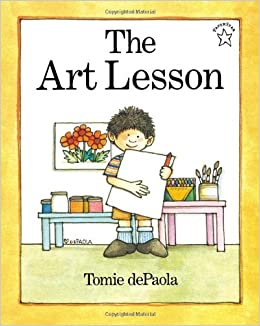 The Art Lesson (Paperstar Book): Tomie dePaola ...